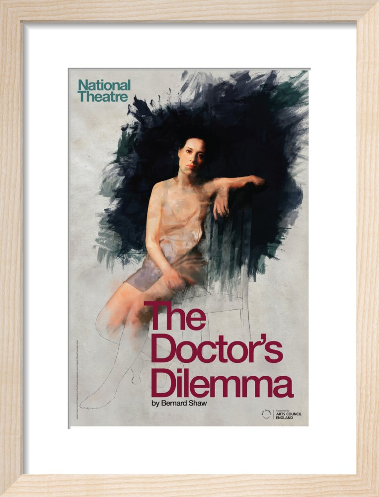 The Doctor's Dilemma Print