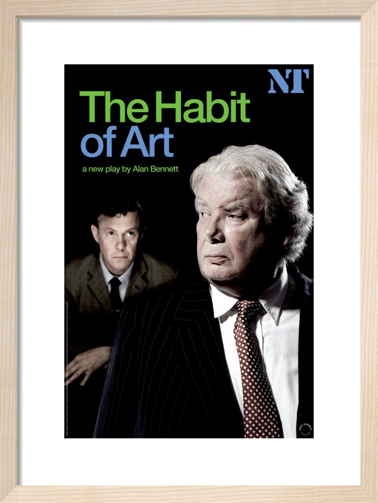 The Habit of Art Print