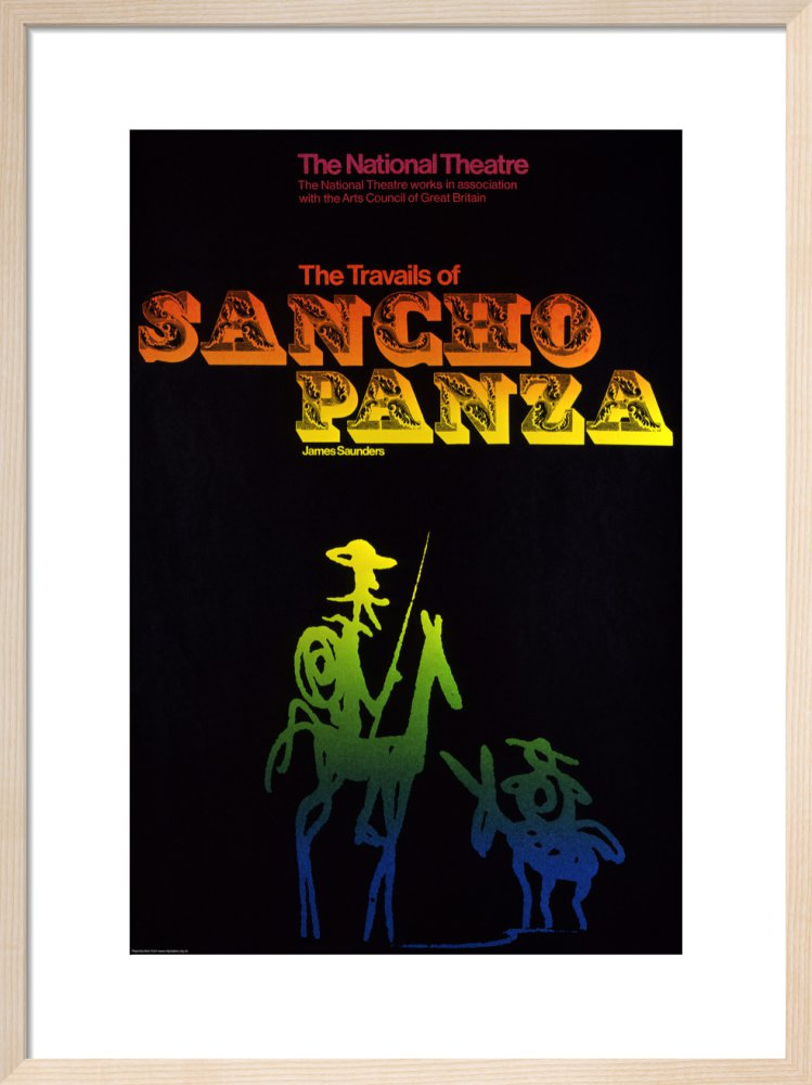 The Travails of Sancho Panza Custom Print