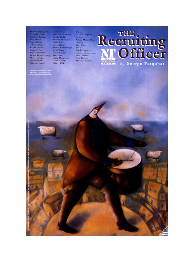 The Recruiting Officer Custom Print