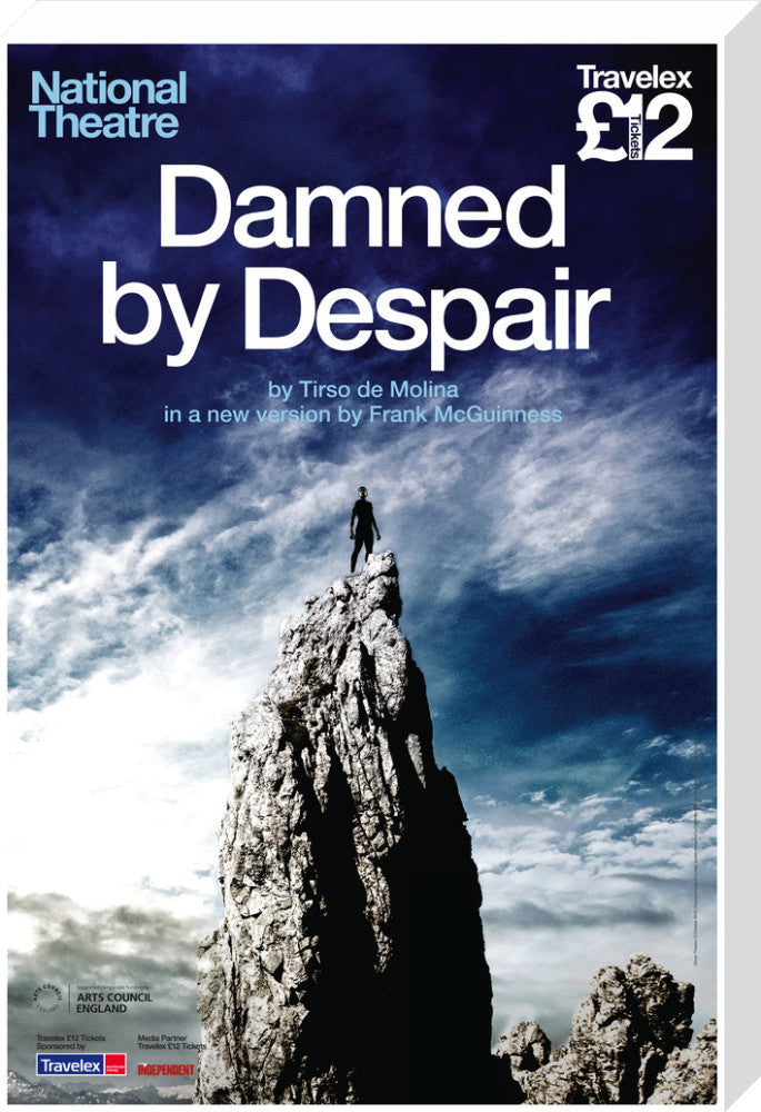 Damned by Despair Print