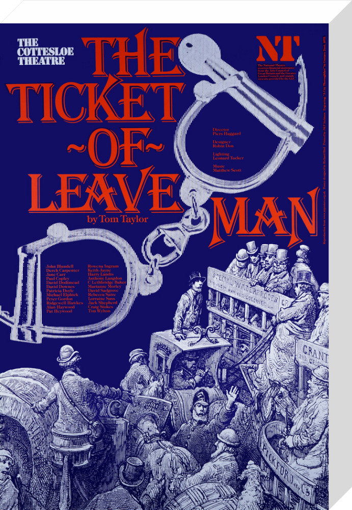 The Ticket-of-Leave Man Custom Print