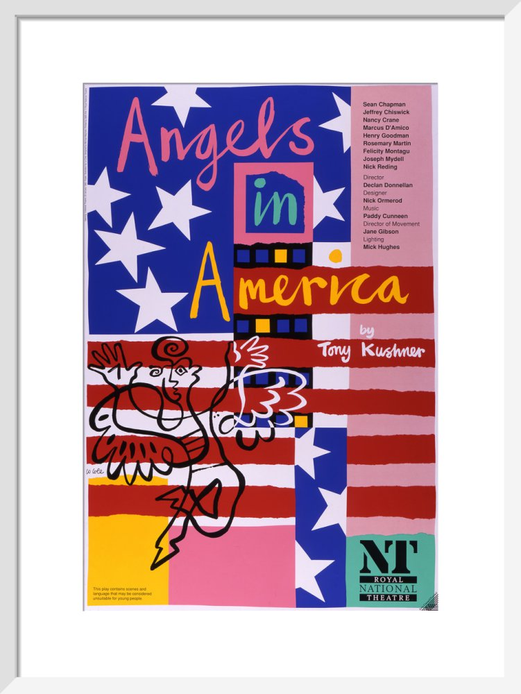Angels in America Custom Print