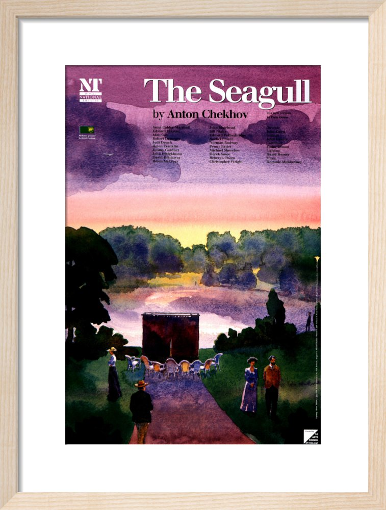 The Seagull Print