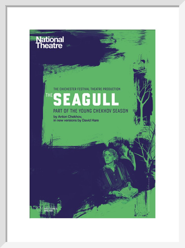 Young Chekhov: The Seagull Print
