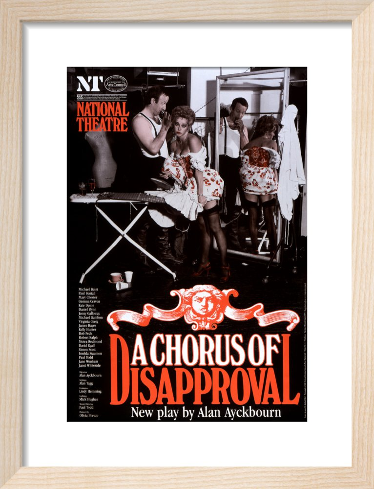 A Chorus of Disapproval Custom Print
