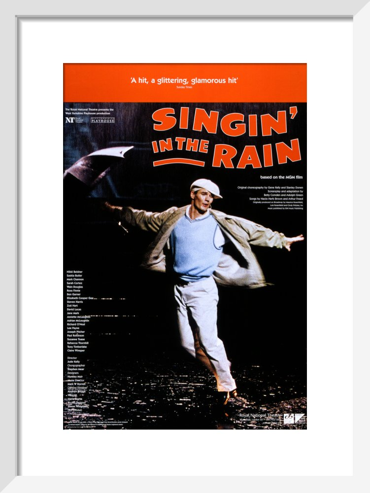 Singin' in the Rain Custom Print