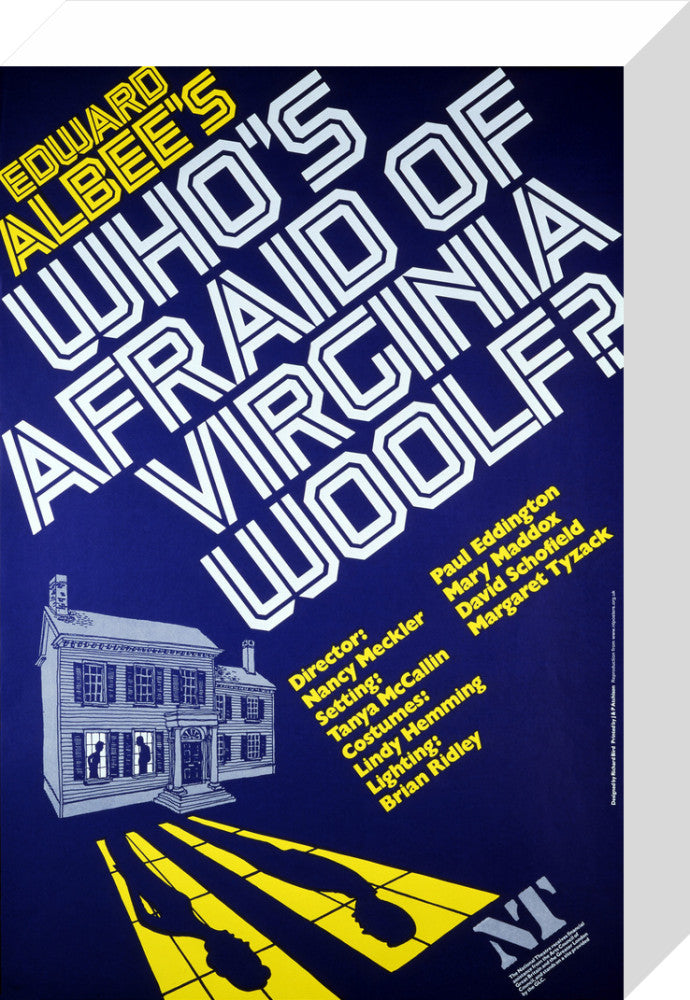 Who's Afraid of Virginia Woolf? Custom Print