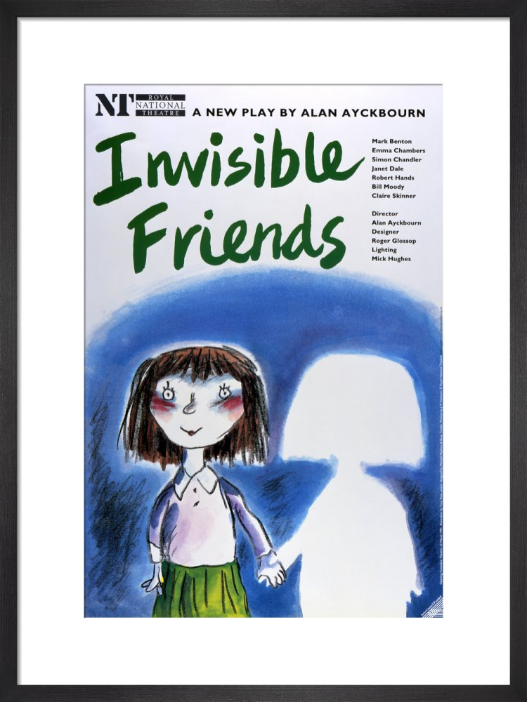 Invisible Friends Custom Print