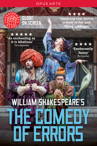 The Comedy of Errors DVD - Shakespeare's Globe