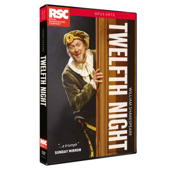 Twelfth Night RSC DVD 2018
