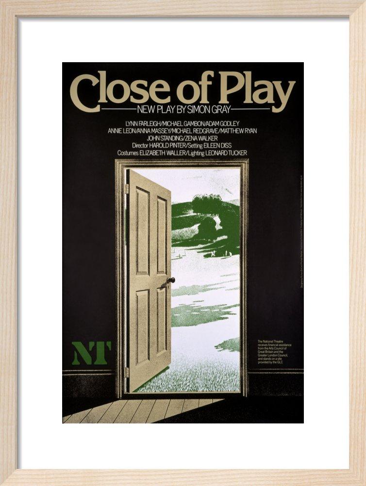 Close of Play Custom Print