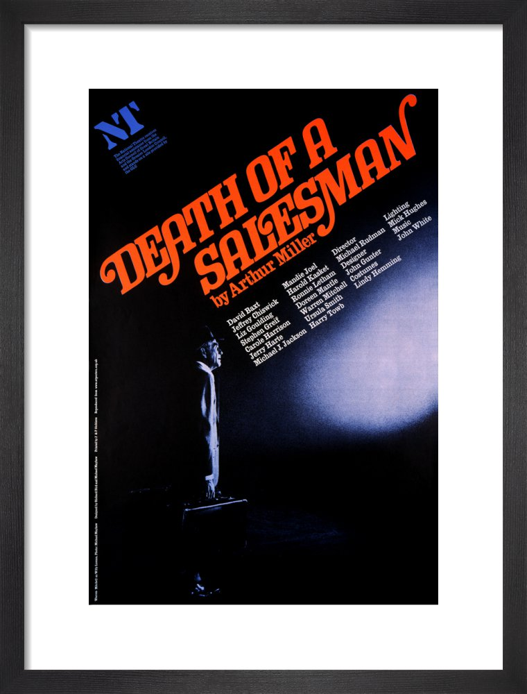 Death of a Salesman Custom Print