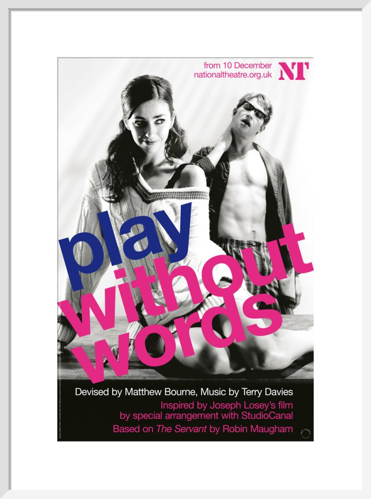 Play Without Words Print