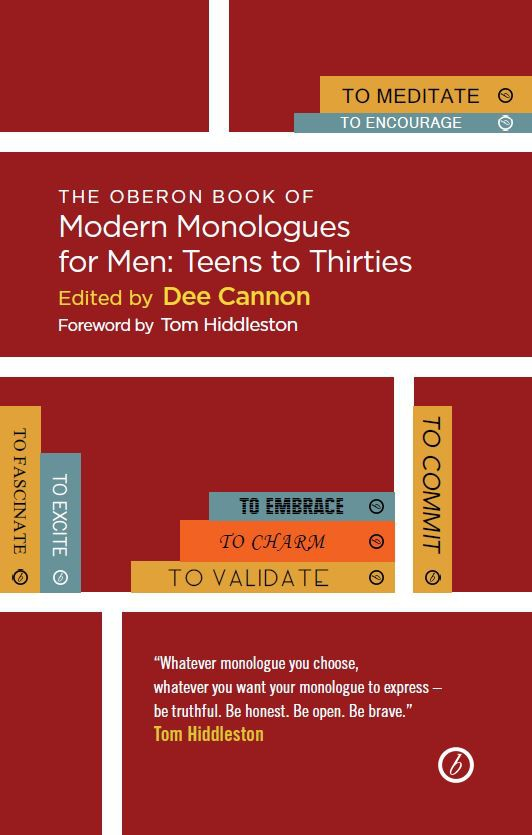 The Oberon Book of Modern Monologues for Men: Teens to Thirties