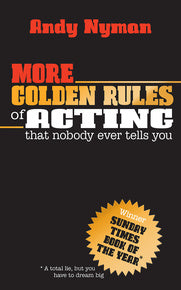 *SIGNED* More Golden Rules for Acting