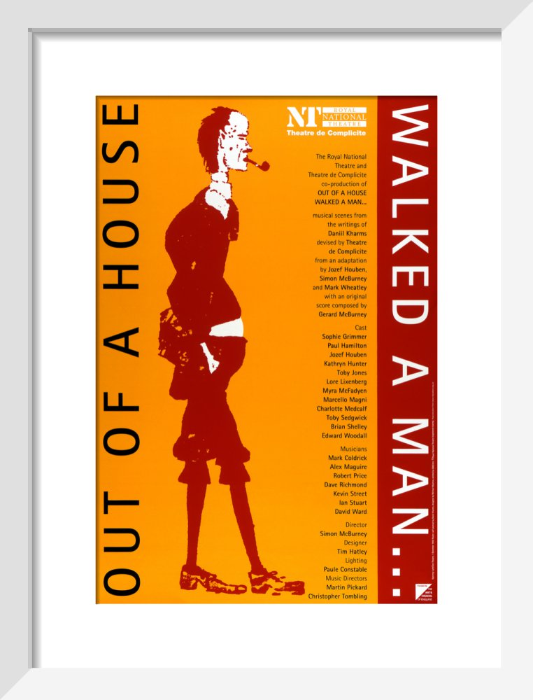 Out of a House Walked a Man… Custom Print