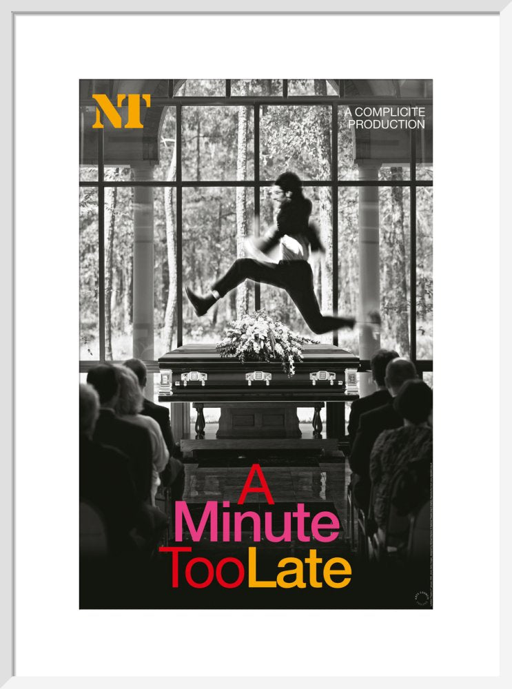A Minute Too Late Print