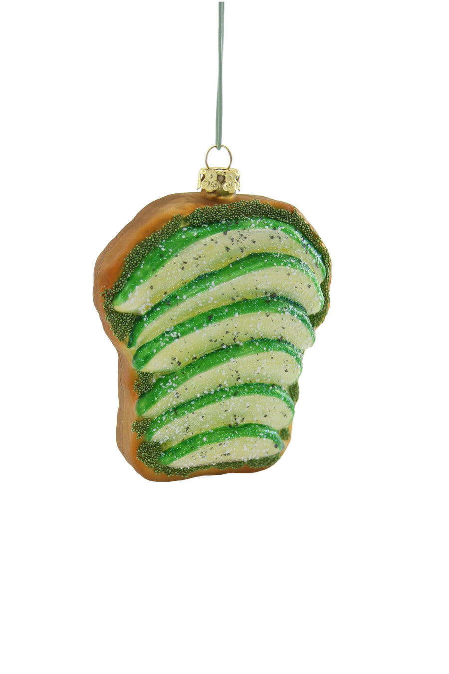 Avocado on Toast Ornament