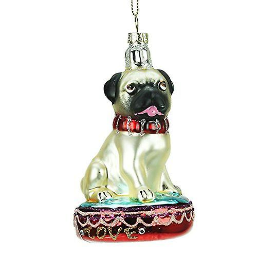 Christmas Pug Bauble