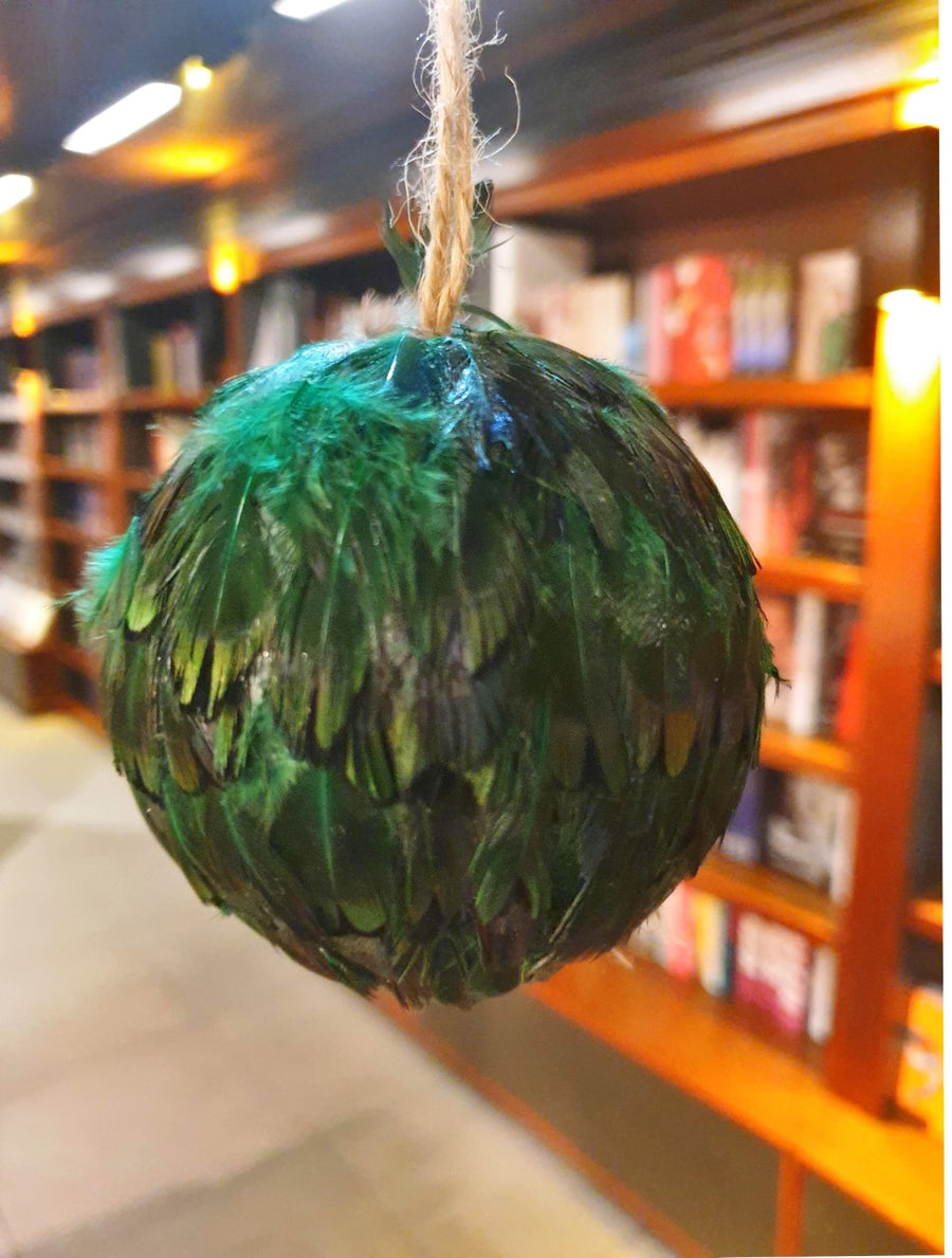 Feather Ball Bauble