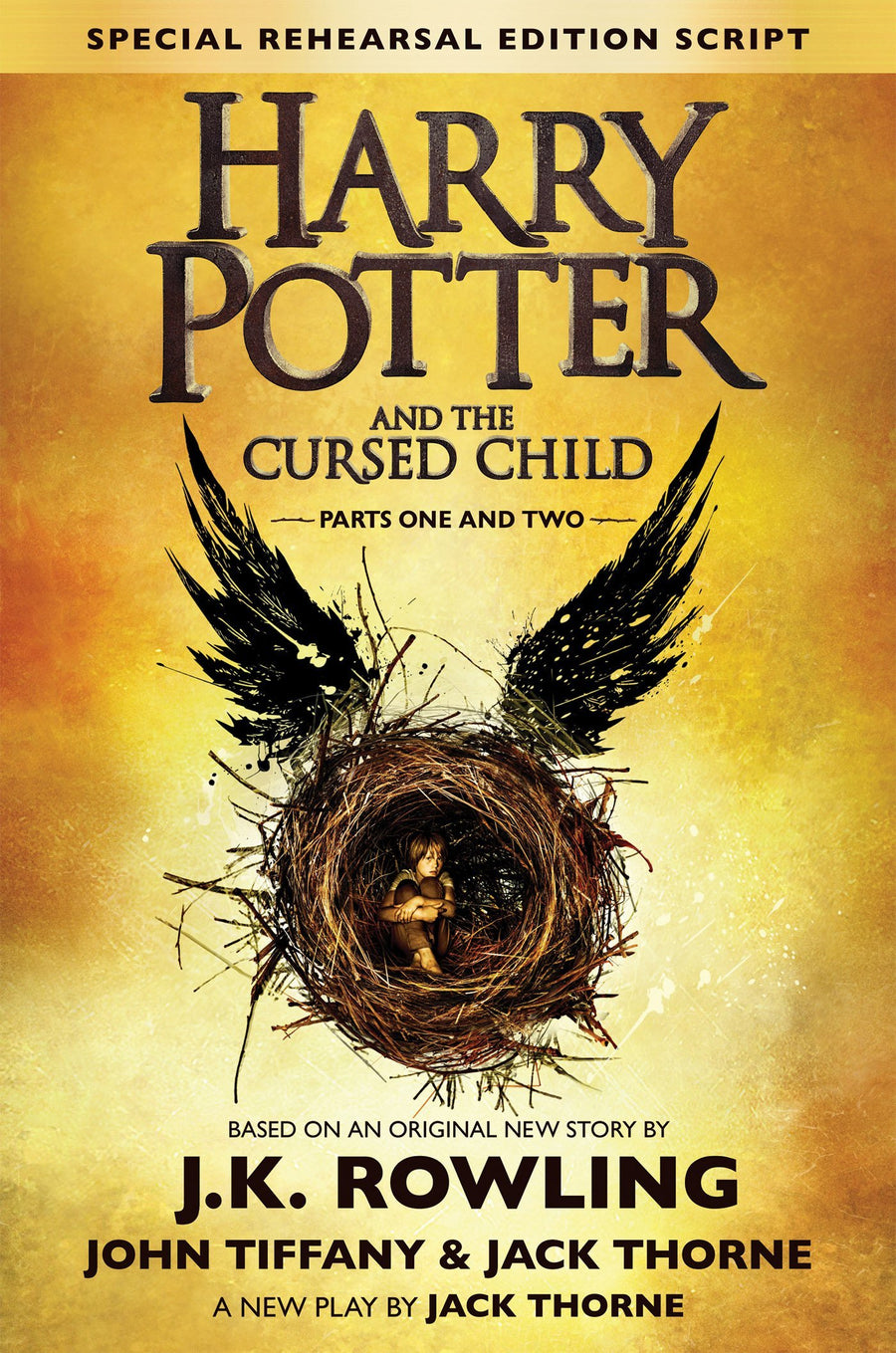 Harry Potter and the Cursed Child - paperback