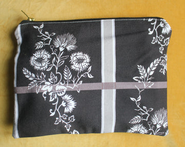 Dark Floral Costume Bag