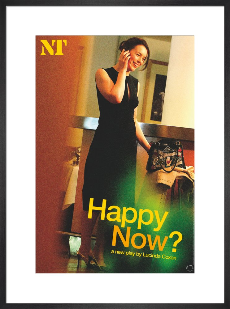 Happy Now? Print
