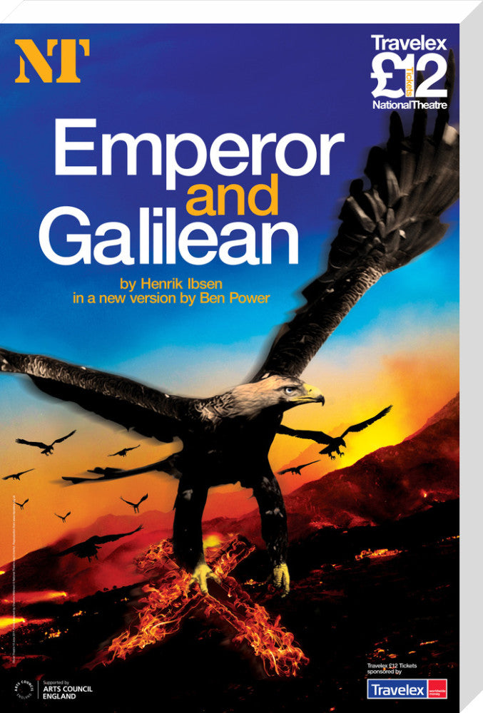 Emperor and Galilean Print