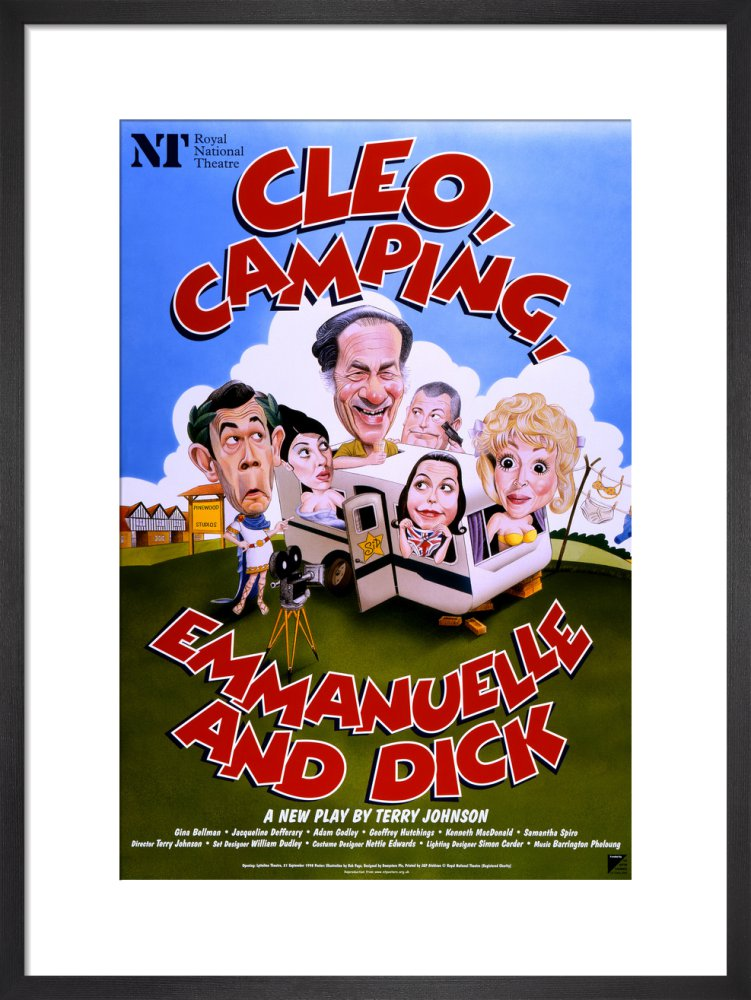 Cleo, Camping, Emmanuelle and Dick Custom Print