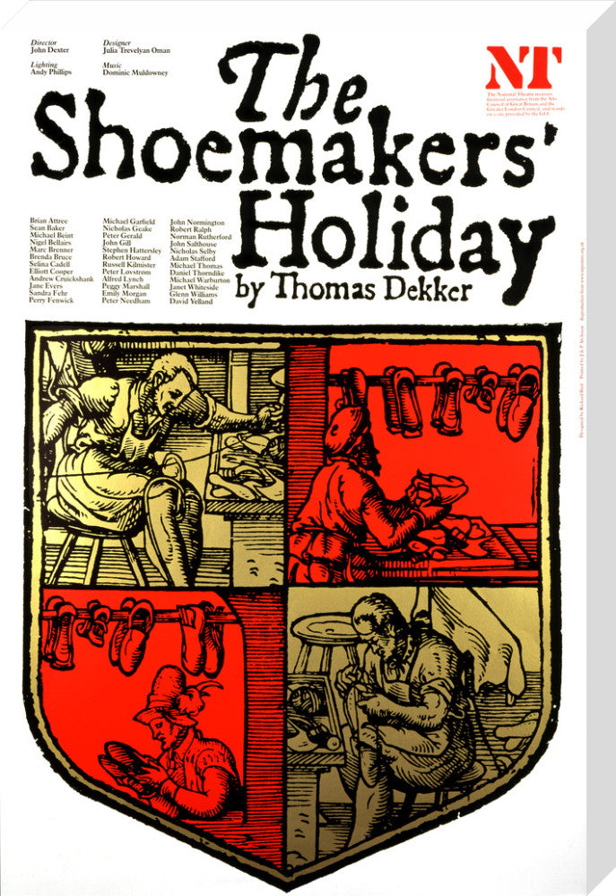 The Shoemakers' Holiday Custom Print