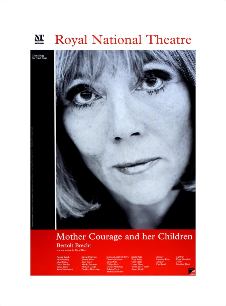 Mother Courage and Her Children Custom Print
