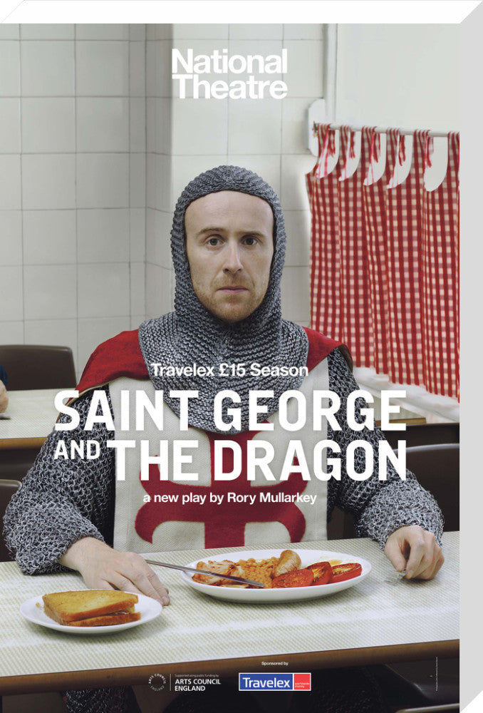 Saint George and the Dragon Print