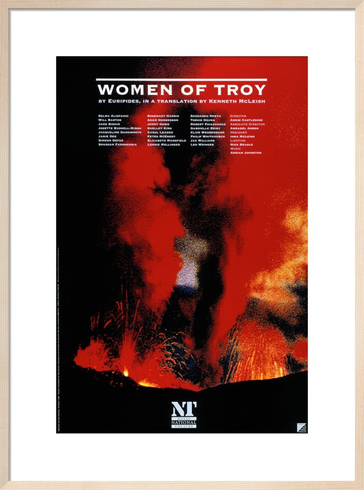 Women of Troy Custom Print