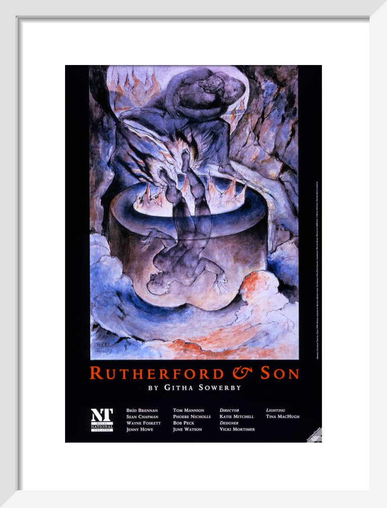 Rutherford and Son Custom Print