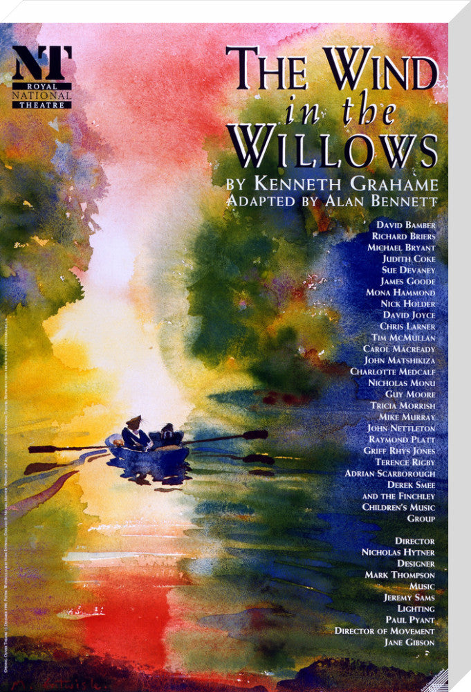The Wind in the Willows Print