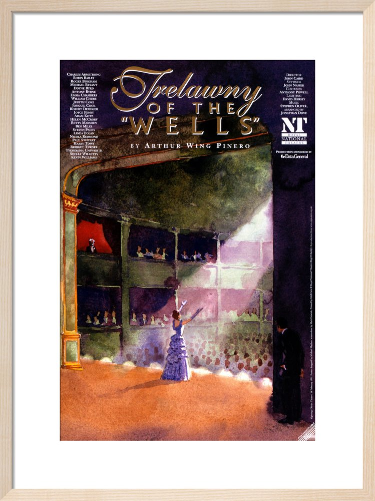 Trelawny of the Wells Custom Print