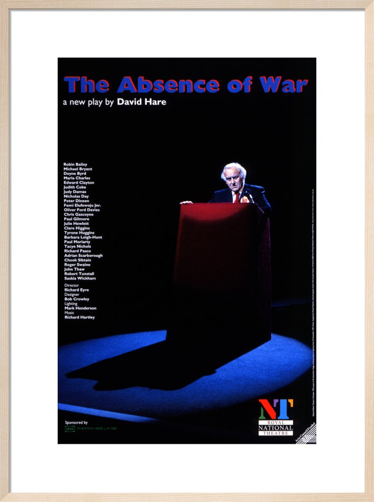 The Absence of War Custom Print