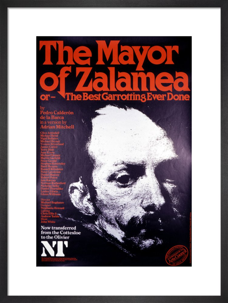 The Mayor of Zalamea Custom Print