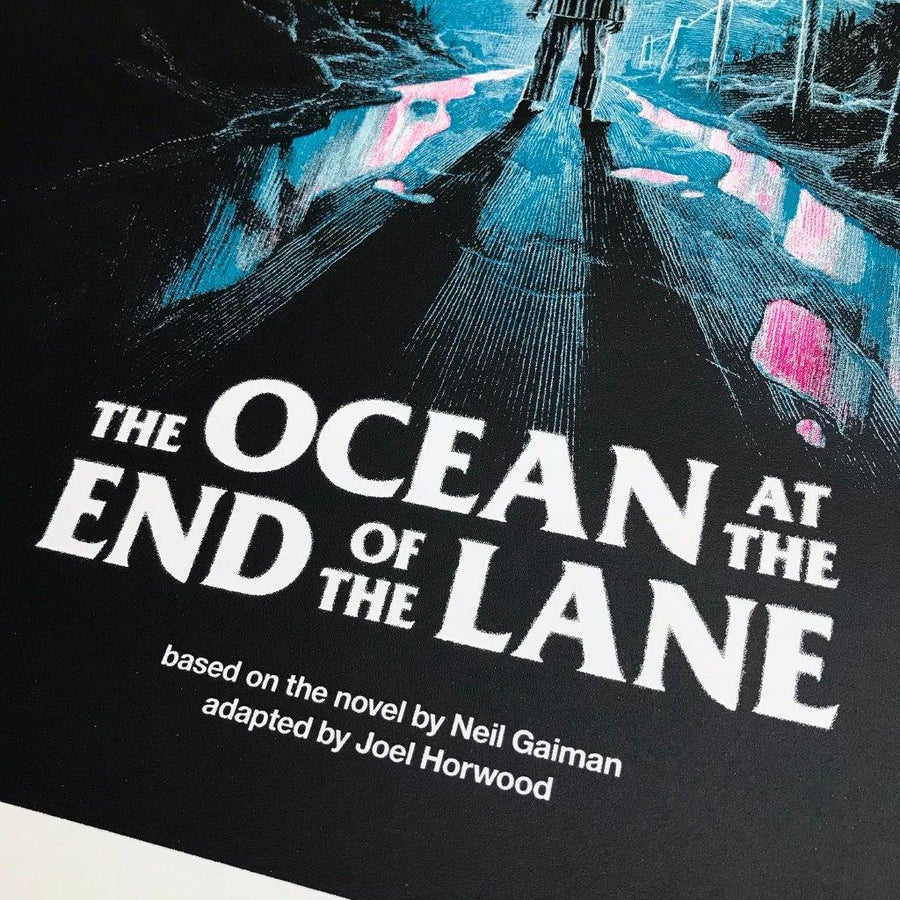 The Ocean at the End of the Lane Limited Edition Signed Screenprint
