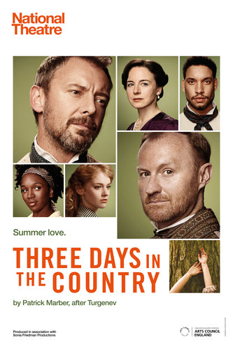 Three Days in the Country Custom Print