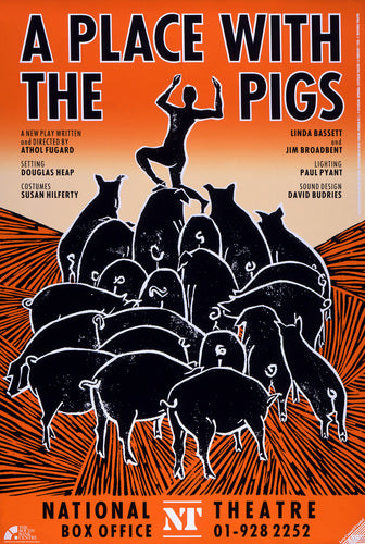 A Place with the Pigs Custom Print