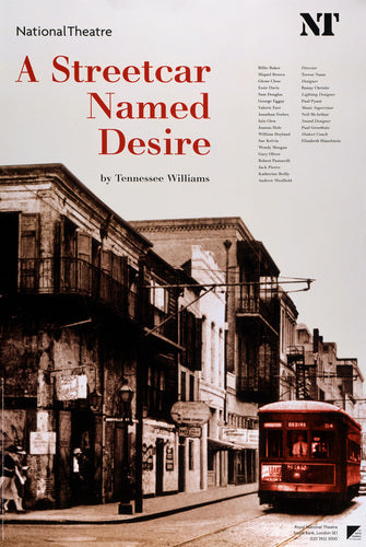 A Streetcar Named Desire Custom Print