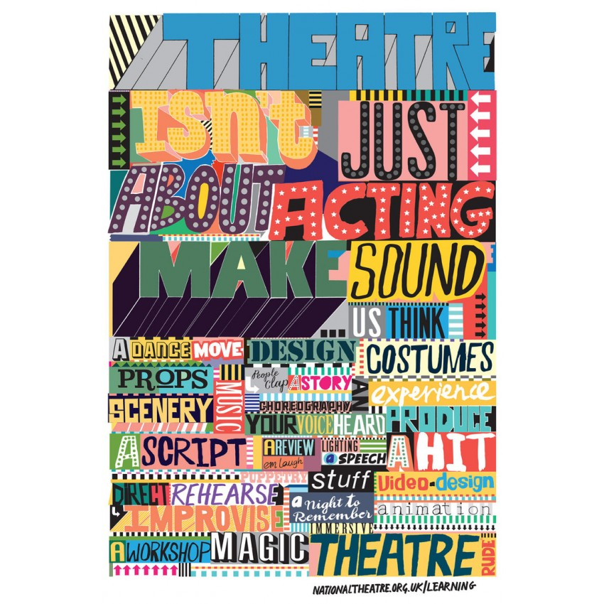 Theatre Isn't Just About Acting Print