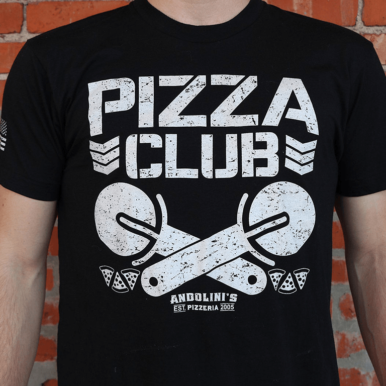 Andolini's 'Pizza Club' T-shirt