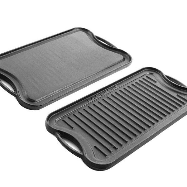 Plancha Grill Oblongo Reversible
