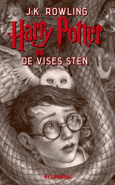 Harry Potter 1 - Harry Potter og De Vises Sten - dänische Ausgabe