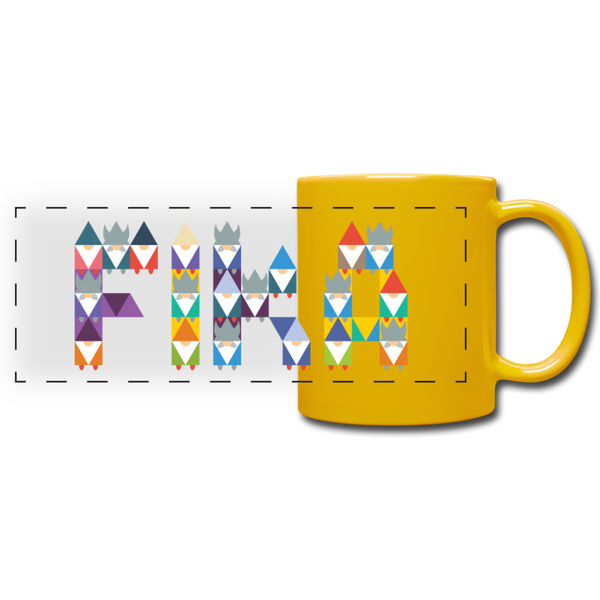 Full Color Panoramic Mug - Sonnengelb