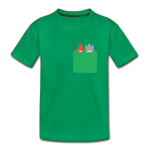 Viking & Tomte Kids' Premium T-Shirt - Kelly Green