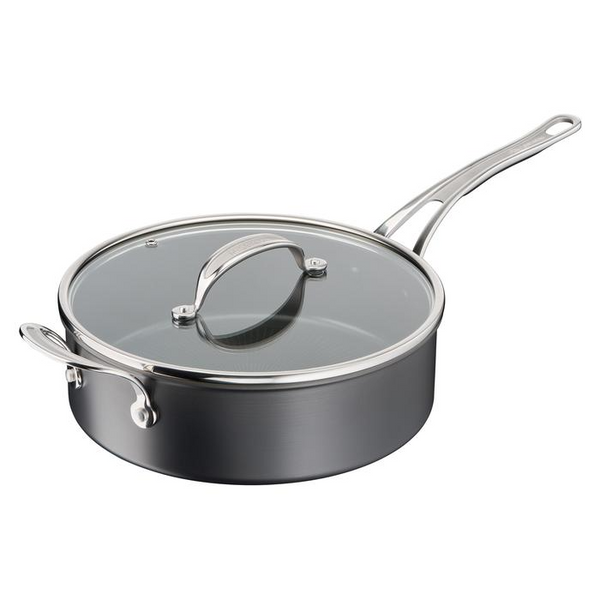 Jamie Oliver by Tefal Cooks Classic Induction Non-Stick Hard Anodised Sautepan 26cm + lid